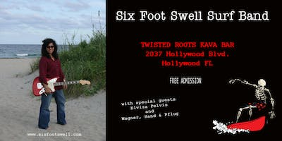 Six Foot Swell Surf Band Album Release Party