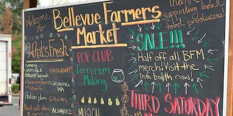 Third Saturday Market- Bellevue Farmers Market tickets