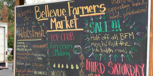 Third Saturday Market- Bellevue Farmers Market
