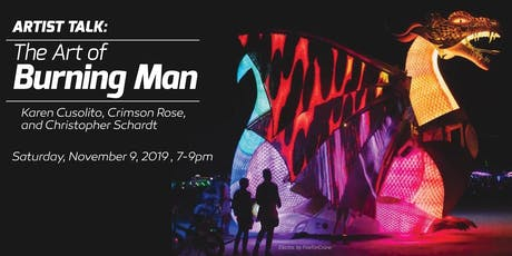 Artist Talk: The Art of Burning Man tickets