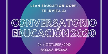 Conversatorio Educación 2020 entradas