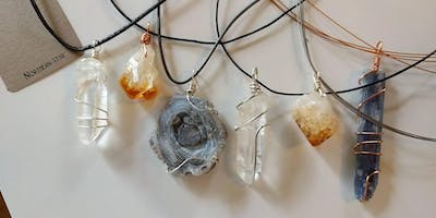 Crystal Wire Wrapping Class