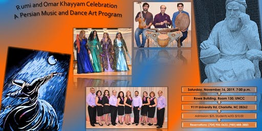 Persian Music and Dance Art Program, Rumi and Khayyam Celebration