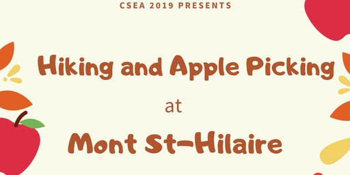 Apple Picking and Hiking at St-Hilaire