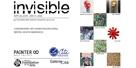 INVISIBLE by PAINTER8, art exhibition tickets
