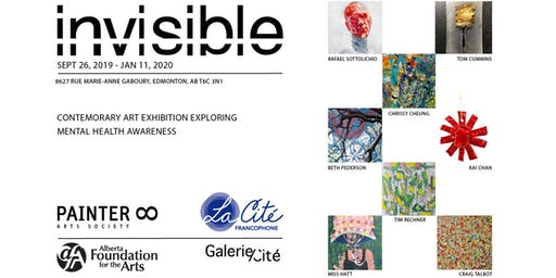 INVISIBLE by PAINTER8, art exhibition