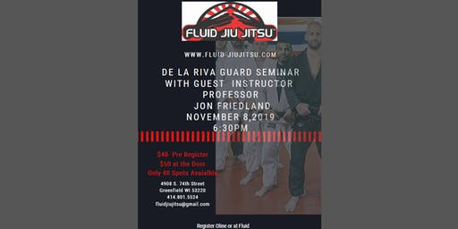 Jon Friedland De La Riva seminar at Fluid