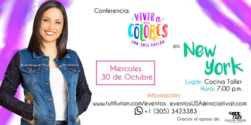 Conferencia Vivir a Colores New York