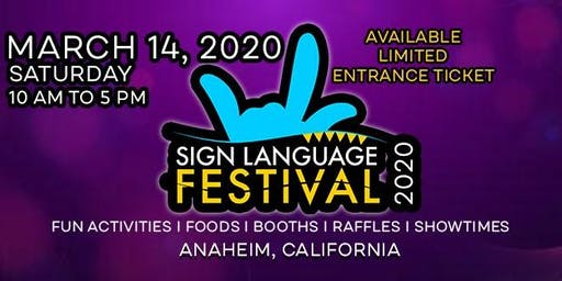 Sign Language Festival 2020