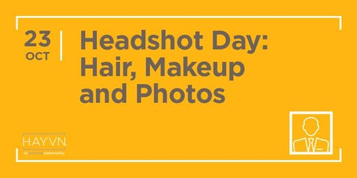 HAYVN Headshot Day: Hair, Makeup and Photos
