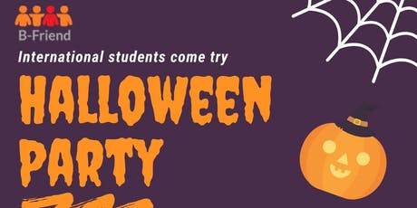Halloween Party  for International Student tickets