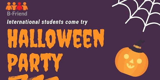 Halloween Party  for International Student