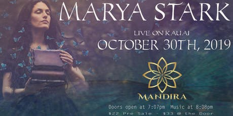 Marya Stark Live Music Concert tickets