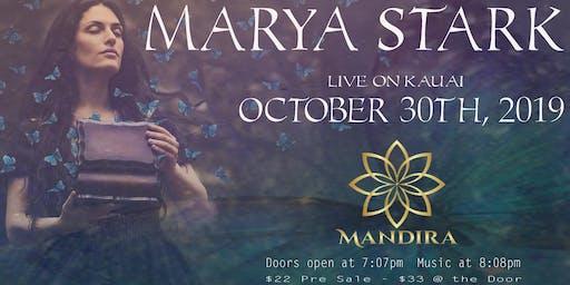 Marya Stark Live Music Concert