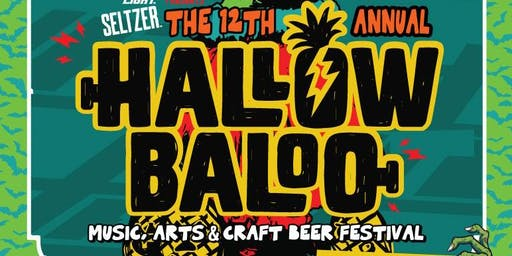 Hallowbaloo 2019: Music, Arts and Craft Beer Festival!