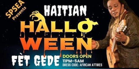 Halloween Party Fet Gede tickets