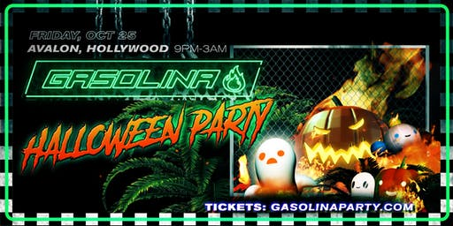 Gasolina Halloween Reggaeton Party