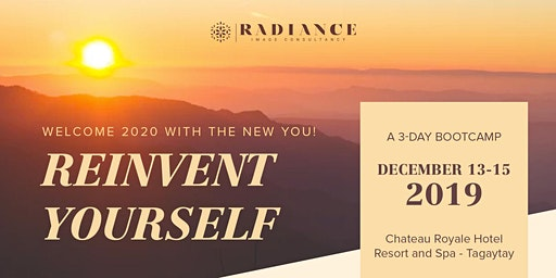 REINVENT YOURSELF BOOT CAMP: Welcome 2020 with the Brand New You!