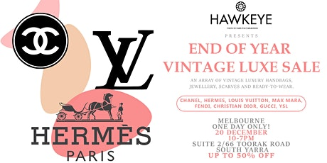 MELB Vintage LUXE Handbag & Accessories BLACK FRIDAY SALE Up to 50% off! tickets