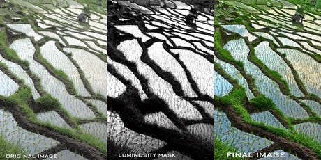 LUMINOSITY MASKS IN PHOTOSHOP AND LIGHTROOM tickets