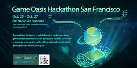 Game Oasis Hackathon San Francisco tickets