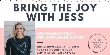 BRING THE JOY WITH JESS tickets