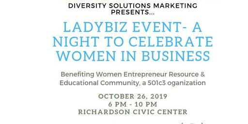 LadyBiz Event -A Night to Celebrate Women in Business