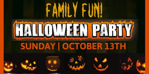 Pumpkin Painting and Family Fun Party 2019