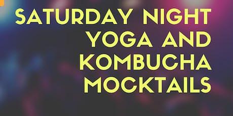 Saturday Night Yoga and Kombucha Mocktails tickets