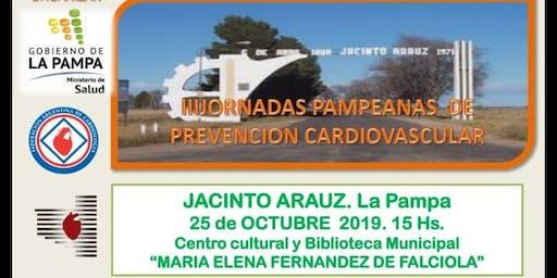 III JORNADA DE PREVENCIÓN CARDIOVASCULAR. JACINTO ARAUZ. LA PAMPA