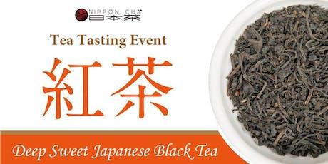 Tea Tasting: Introducing Japanese Black Tea tickets