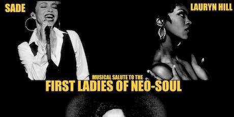 Musical Salute to: Sade, Lauryn Hill & Jill Scott  , tickets