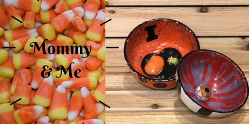 Mommy and Me Halloween Candy Bowl class