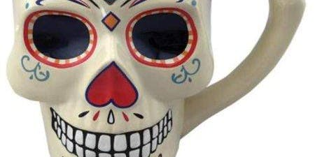 Paint your own FrankenStein OR Sugar skull mug at Last Name