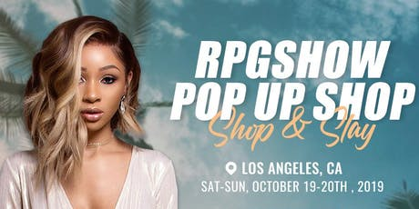 RPGSHOW POP UP SALON - Luxe Makeup & Hair Makeovers tickets