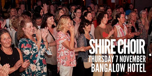 Shire Choir Bangalow - November 2019