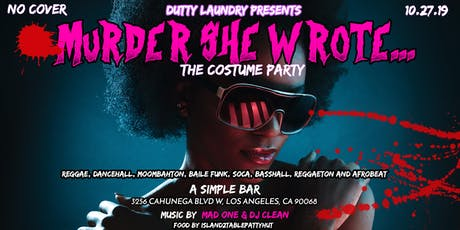 Murder She Wrote... A Costume Party tickets