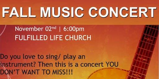 Fall Music Concert