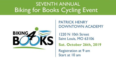 7th Annual Biking4Books Cycling Event tickets