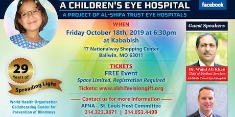 AL-SHIFA TRUST EYE HOSPITAL FUNDRAISER tickets