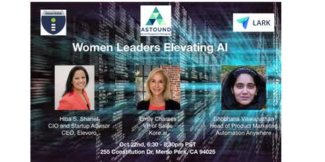 Women Leaders Elevating AI tickets