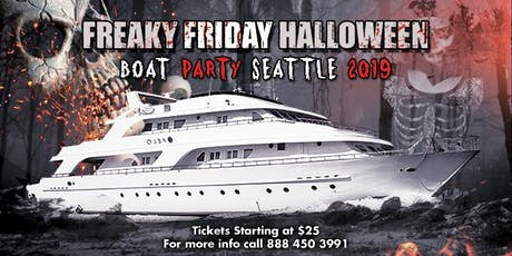 Freaky Friday Halloween Boat Party Seattle 2019 tickets