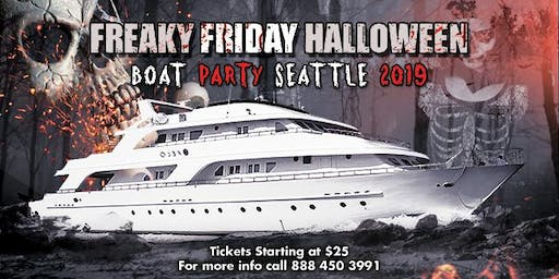 Freaky Friday Halloween Boat Party Seattle 2019