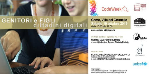 Genitori e figli: cittadini digitali