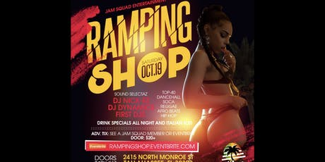 Ramping Shop tickets