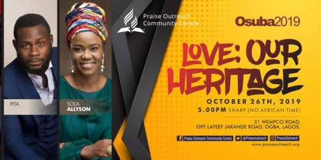 OSUBA 2019 - LOVE: OUR HERITAGE tickets