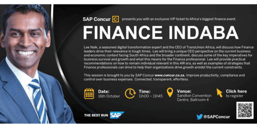 Finance Indaba SAP Concur