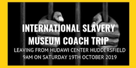 National Slavery Museum Coach Trip tickets