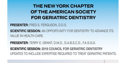 The New York Chapter of The American Society For Geriatric Dentistry