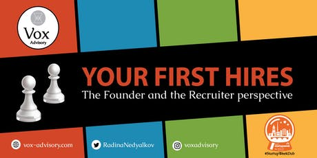Your First Hires - the Founder and the Recruiter perspective tickets